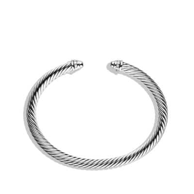 Cable Classics Bracelet with Diamonds, 5mm