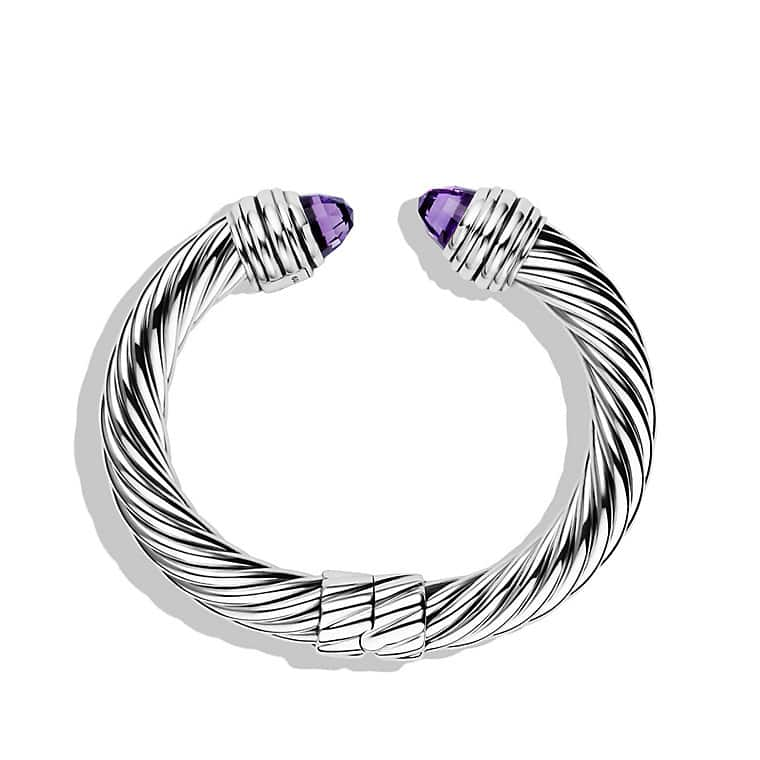 Cable Classics Bracelet with Amethyst