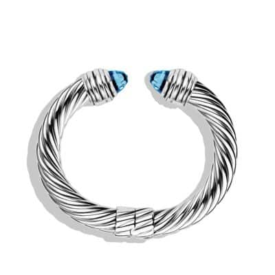 Cable Classics Bracelet with Blue Topaz