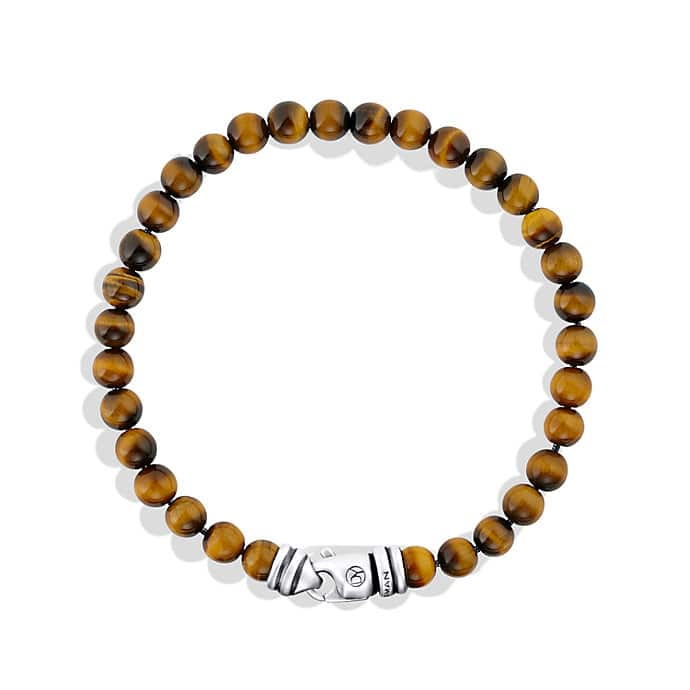 Spiritual Beads Bracelet with Tiger's Eye