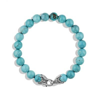 Spiritual Beads Bracelet with Turquoise, 8mm