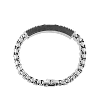 Pavé ID Bracelet with Gray Sapphires