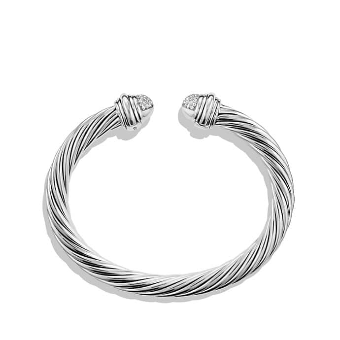 Cable Classics Bracelet with Diamonds, 7mm