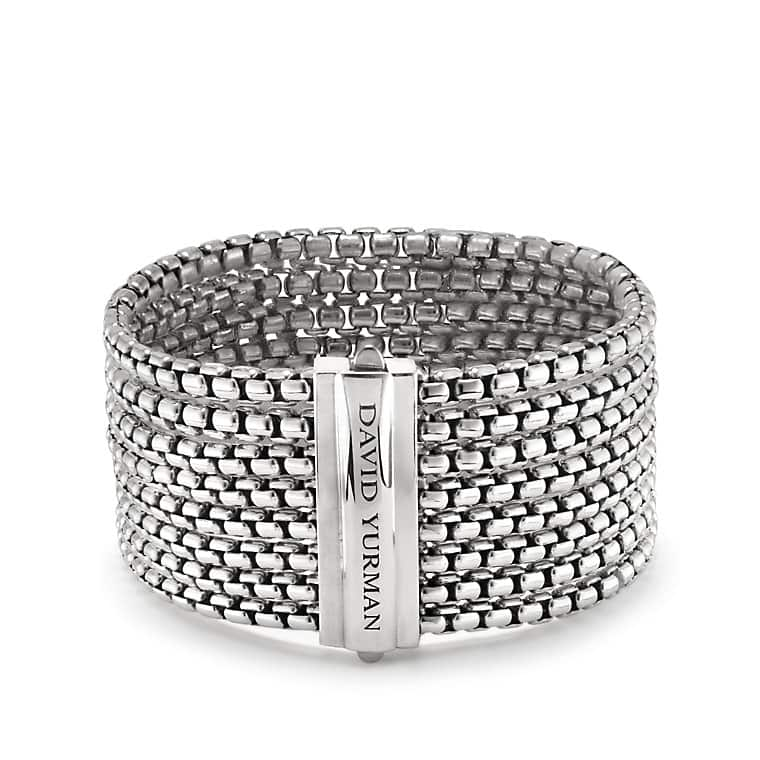 Box Chain Eight-Row Bracelet
