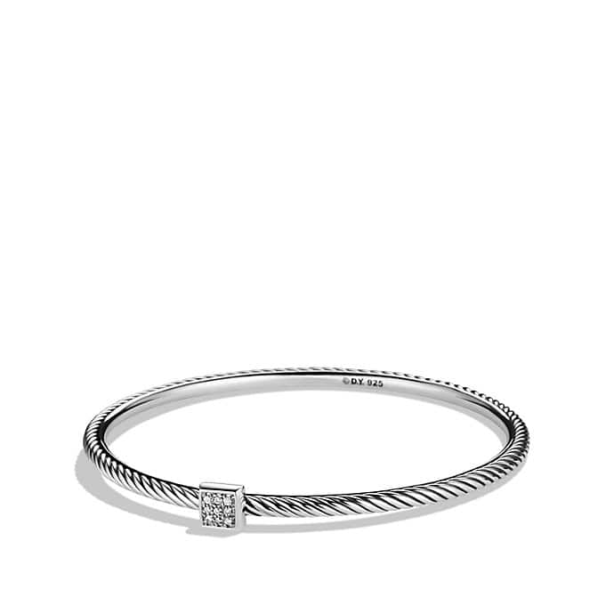 Confetti Bangle with Diamonds
