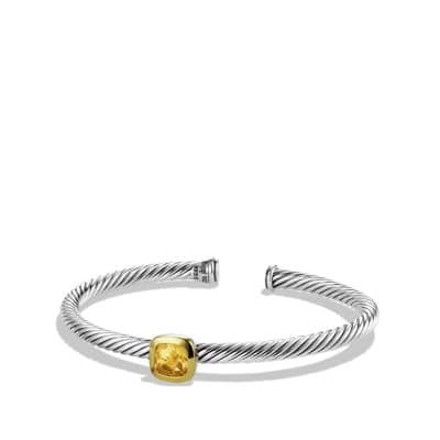 Noblesse Bracelet with Champagne Citrine and Gold