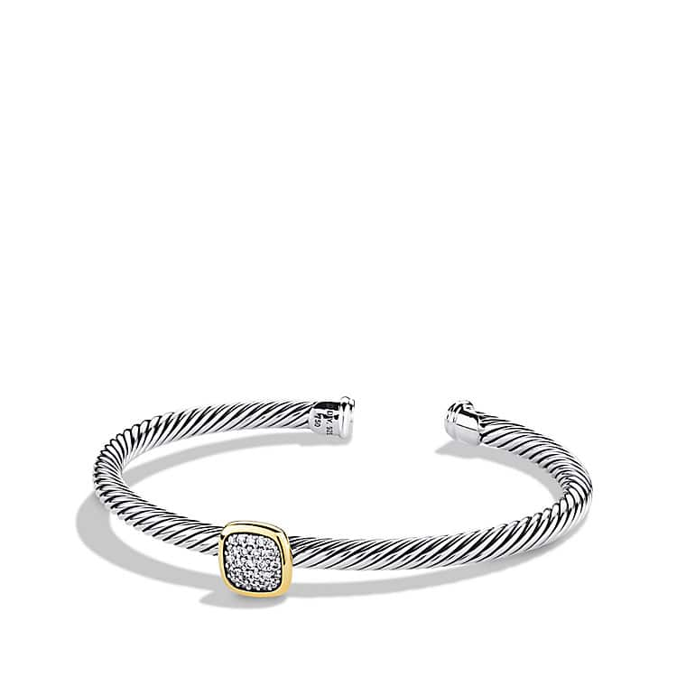 Noblesse Bracelet with Diamonds and Gold