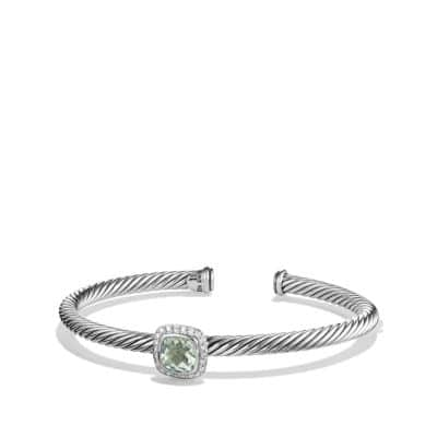 Noblesse Bracelet with Prasiolite and Diamonds