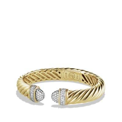 Waverly Bracelet with Diamonds in Gold
