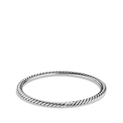 Cable Classics Bangle, 4mm