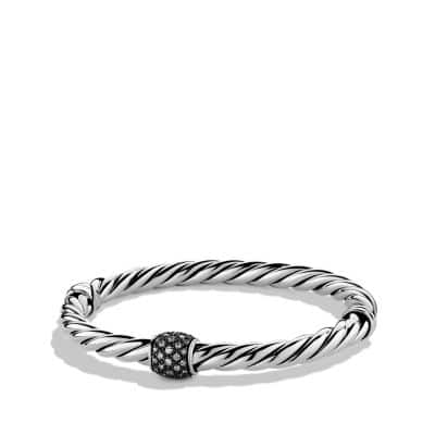 Cable Classics Narrow Bracelet with Diamonds