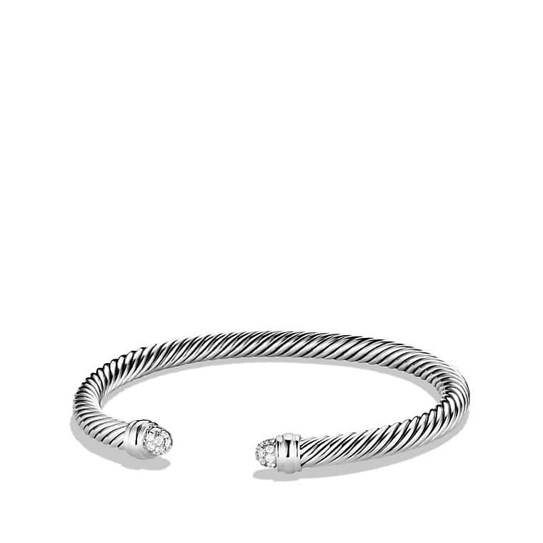 polished twisted silver cuff adjustable elastic bracelet bangle steel bangles cable dragon dp amazon mens color com