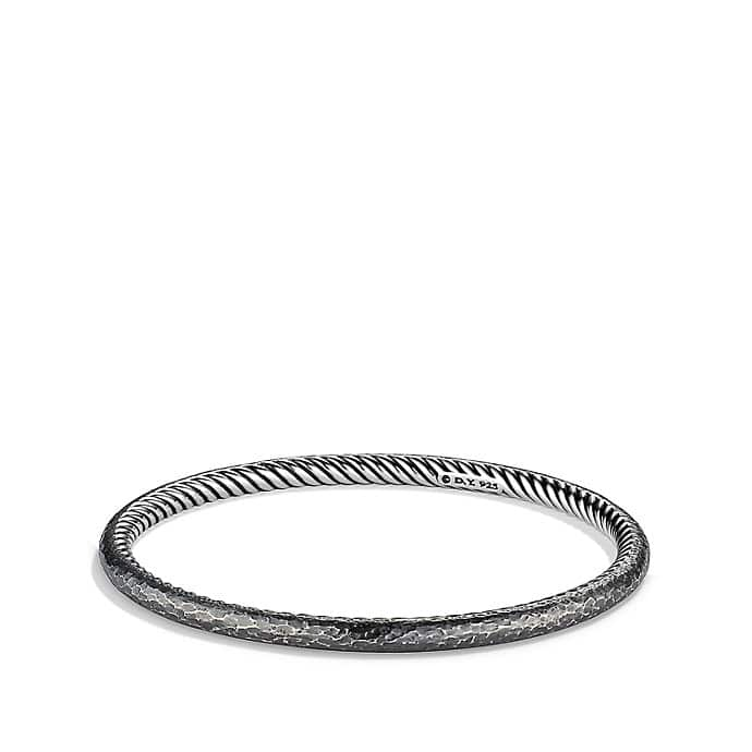 Cable Classics Hammered Bangle