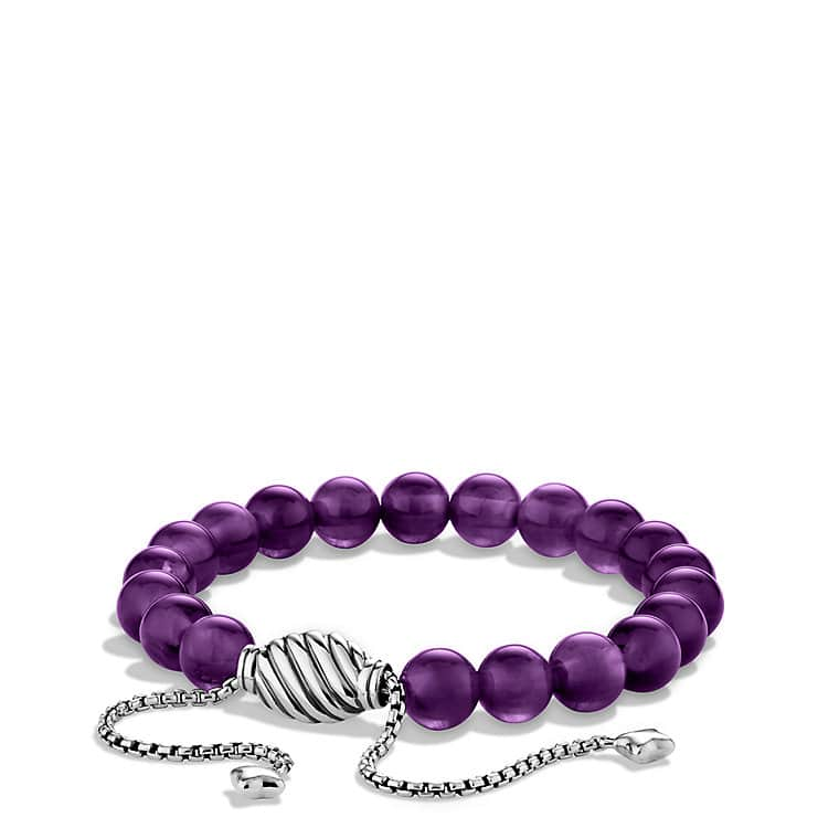 Spiritual Beads Bracelet with Amethyst