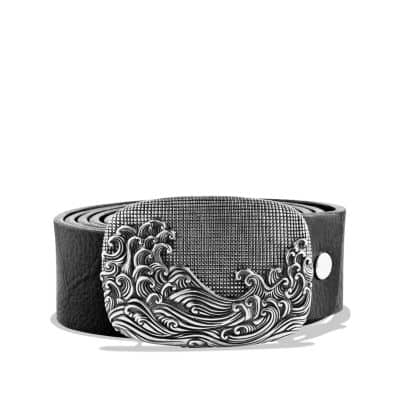 Waves Belt Buckle
