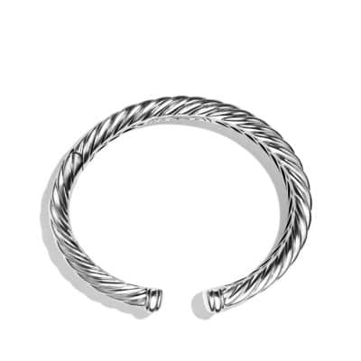 Sculpted Cable Bracelet, 11mm