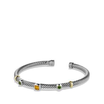 Renaissance Bracelet with Citrine and Gold