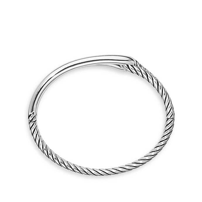 Labyrinth Single-Loop Bracelet
