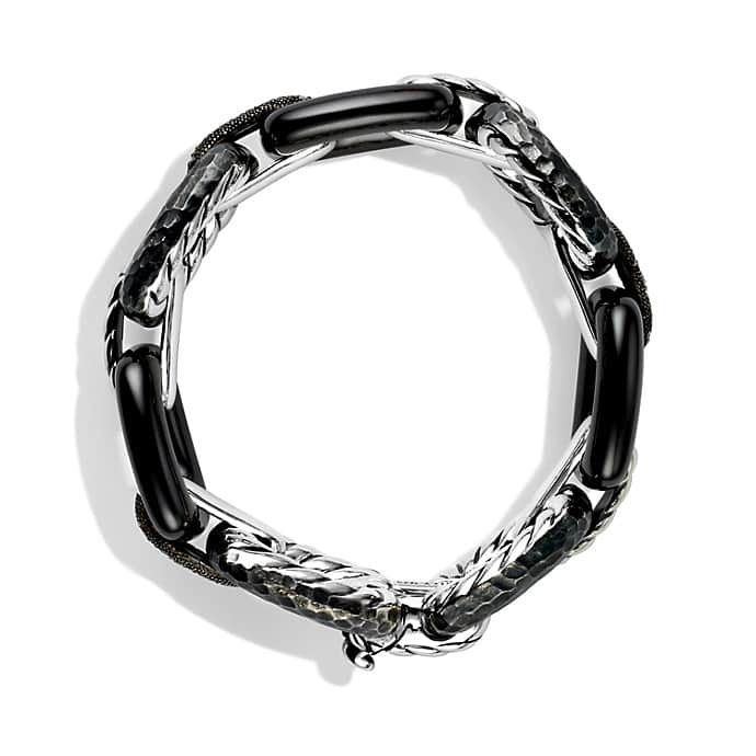 Midnight Mélange Link Bracelet with Diamonds
