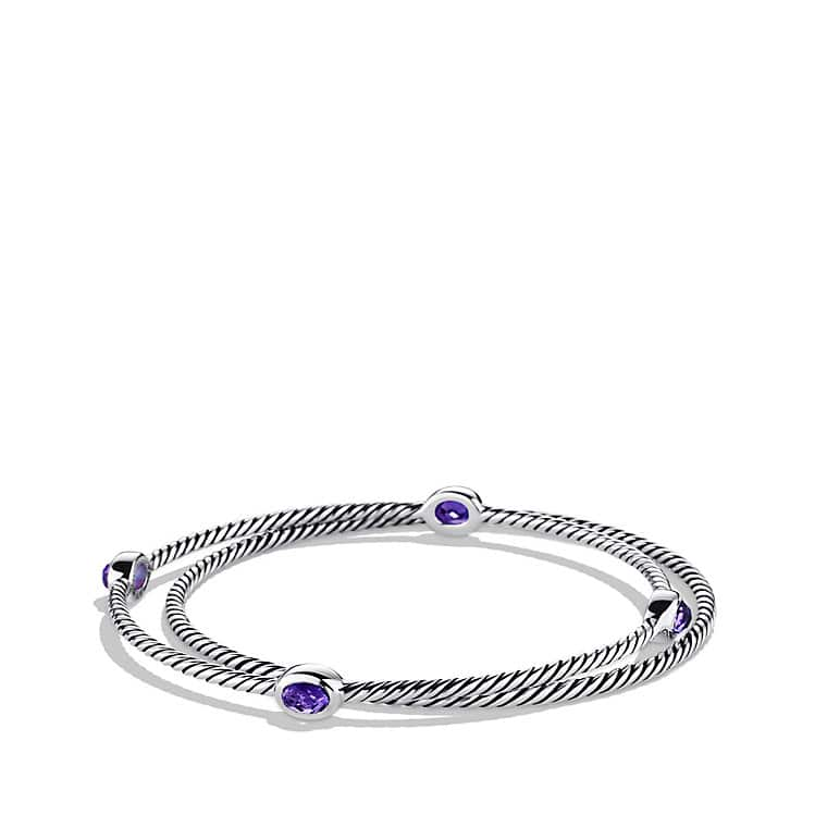 jewellery twisted bangle amethyst shop zanfeld bangles bracelet with hinged bracelets cable