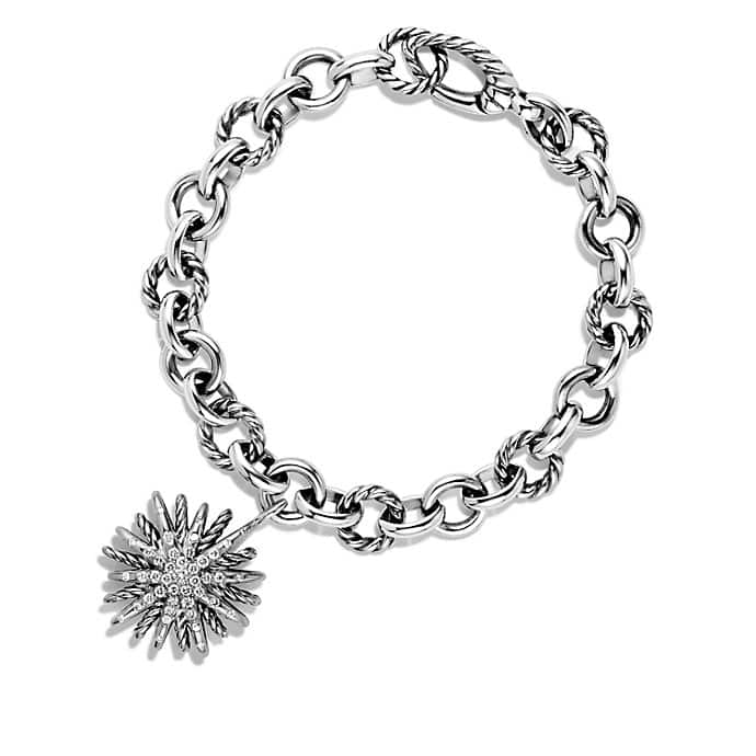 Charm Bracelet with Diamonds