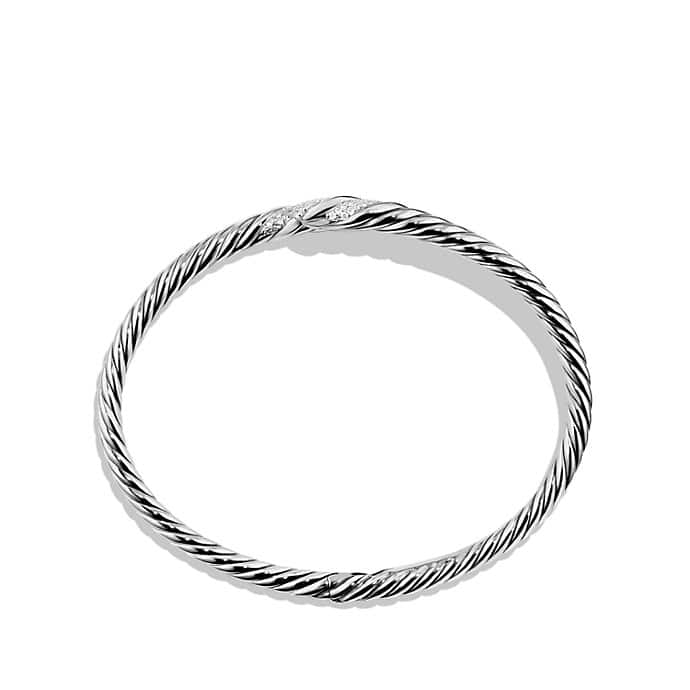 Willow Single-Row Bracelet with Diamonds