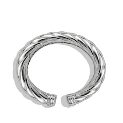 Sculpted Cable Bracelet, 18mm