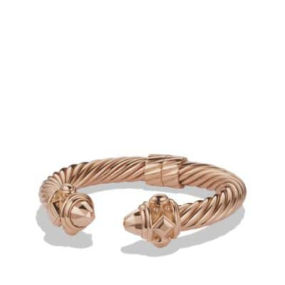 Renaissance Bracelet in 18K Rose Gold, 10mm