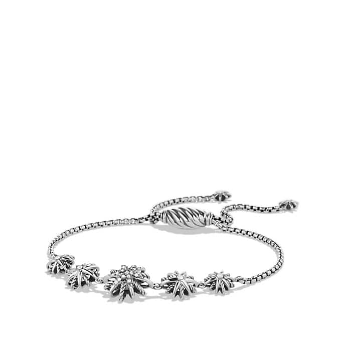 Starburst Five-Station Bracelet with Diamonds