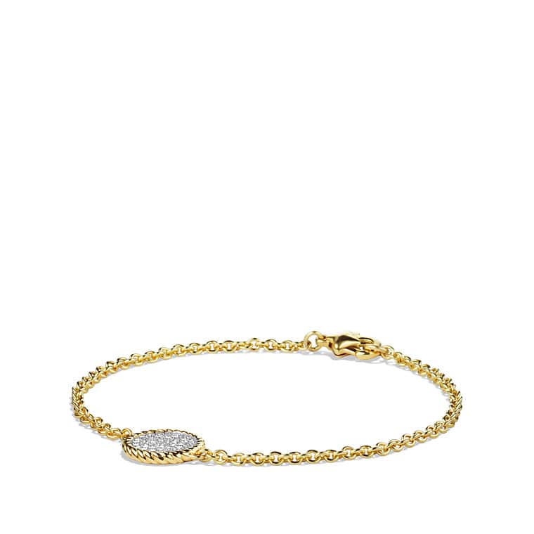 elongated faith saxon shop walters bracelets chain rg link gold cuffs bracelet rose
