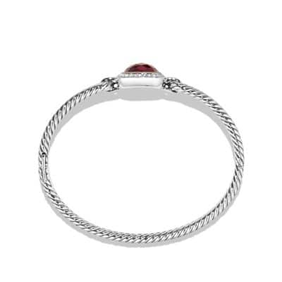 Bracelet with Garnet, Diamonds and 18K Gold