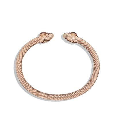 Renaissance Bracelet in 18K Rose Gold, 5mm