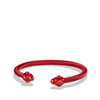 Bracelet in Dark Red Aluminum