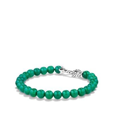 Spiritual Beads Bracelet with Green Onyx thumbnail