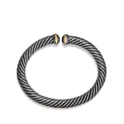 Cable Spira Bracelet with 18K Gold