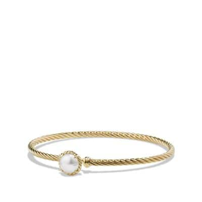 Châtelaine Bracelet with Pearl in 18k Gold thumbnail