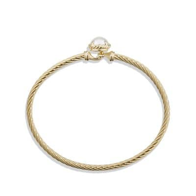 Bracelet with Pearl in 18k Gold
