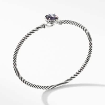 Châtelaine Bracelet with Black Orchid