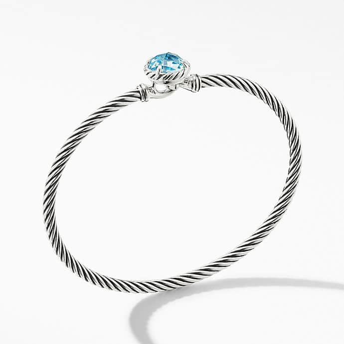 Châtelaine® Bracelet with Blue Topaz