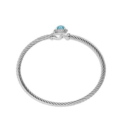 Châtelaine Bracelet with Blue Topaz