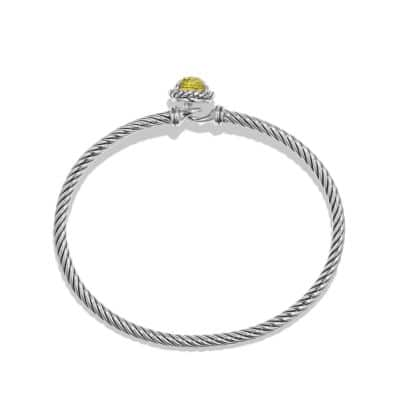 Chatelaine Bracelet with Lemon Citrine
