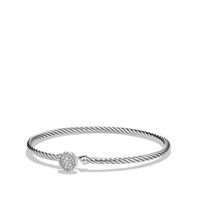 Petite Pave Bracelet with Diamonds