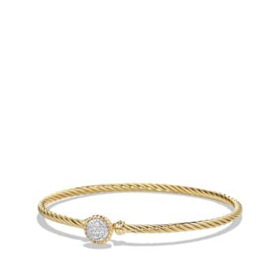 Bracelet with Diamonds in 18K Gold