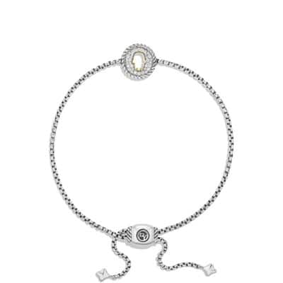 Cable Collectibles Hamsa Charm Bracelet with Diamonds with 18K Gold