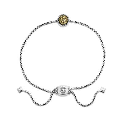 Petite Pave Bracelet with Yellow Sapphire
