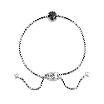 Petite Bracelet with Black Diamonds
