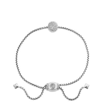 Petite Pavé Bracelet with Diamonds