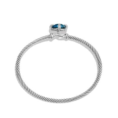Châtelaine® Bracelet with Hampton Blue Topaz and Diamonds, 9mm