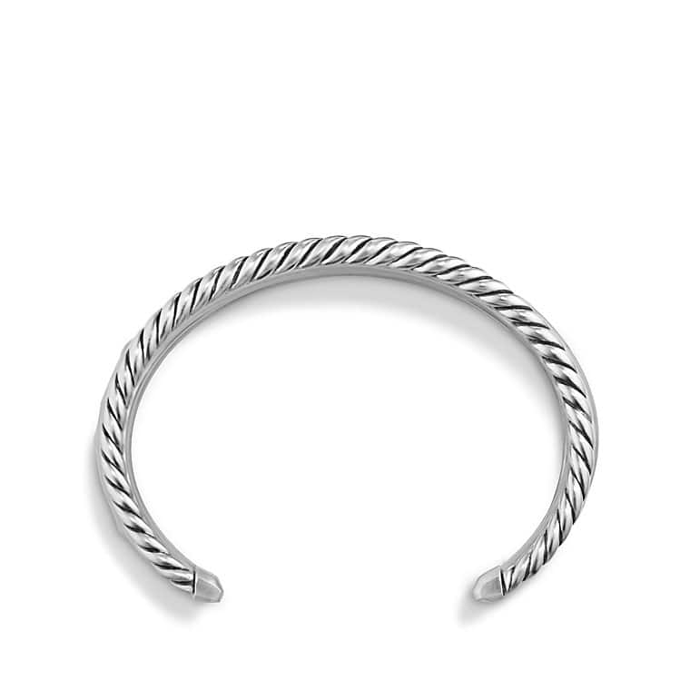 Stax Wide Cuff Bracelet with Diamonds, 29.5mm