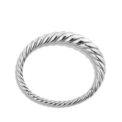 Pure Form Cable Bracelet, 9.5mm